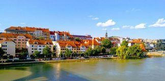 The nice town of Maribor worth a visit