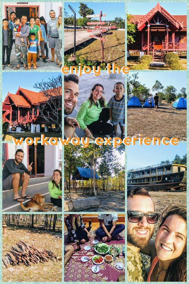 Enjoying a workaway experience in Nakai in the center of Laos
