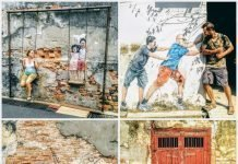 Views of George Town street art